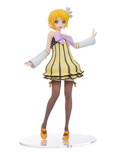 Sega 115-1011810 Kagamine Rin Project Diva Future Tone Cheerful Candy SPM Premium Action Figure, 11""