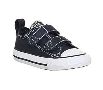 Converse Chuck Taylor CT 2V Ox, Zapatillas de Estar por casa Bebé-para Niños