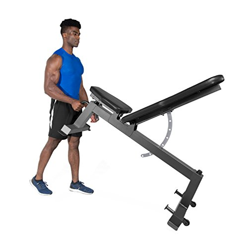 Cap Barbell Deluxe Utility Weight Bench Fitness Equipment