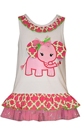 Bonnie Baby Girl Elephant Spring Bubble (0m-24m)