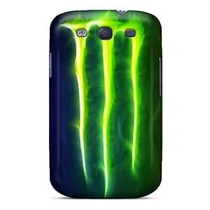 Shock Absorption Hard Phone Cover For Samsung Galaxy S3 (JfS4981cvSR) Provide Private Custom Lifelike Monster Series