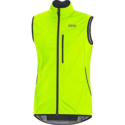 GORE Wear C3 Men's Vest GORE WINDSTOPPER, M, Neon Yellow/Black from GORE WEAR