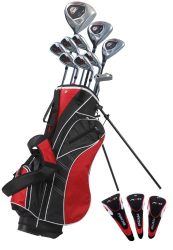 Precise AMG Men's Tall Complete Set (Red, Right Hand, +1-inch), Outdoor Stuffs