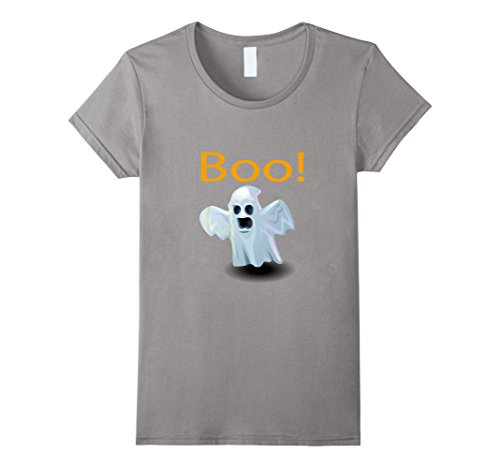 Womens Ghost shirt saying Boo halloween costume - halloween shirt XL (Homemade Shark Halloween Costumes)