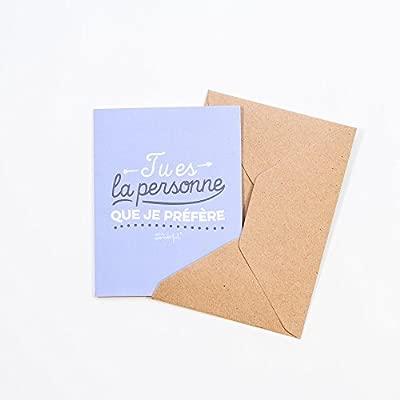 Mr. Wonderful woa01309 tarjeta de felicitación - eres mi ...