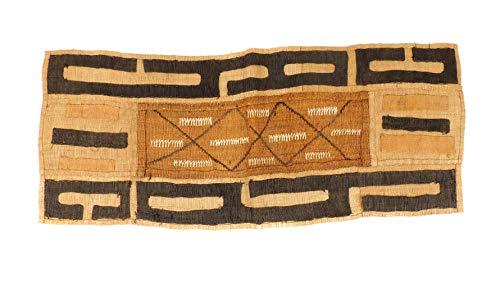 Kuba Raffia Textile Handwoven Congo African Art 33 Inches