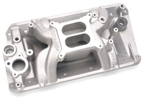 Edelbrock 7531 Performer RPM Air-Gap Intake Manifold - Edelbrock Rpm Air Gap Intake