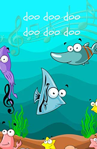 Doo, doo, doo, doo, doo, doo: Baby Shark: doodle jotter
