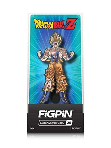 FiGPiN Dragon Ball Z: Super Saiyan Goku - Collectible Pin with Premium Display Case