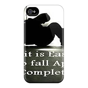 Defender Case With Nice Appearance (fall Apart) For Iphone 4/4s