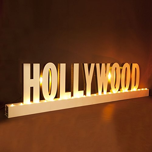 Hollywood Magic Letters Kit - 4'10'' High x 20' Wide x 1' Deep by TCDesignerProducts (Image #1)
