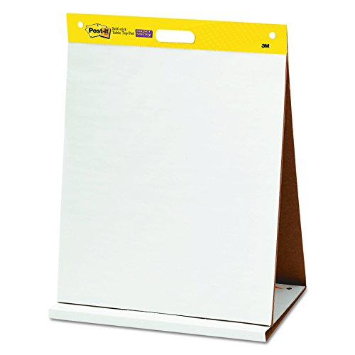 post it super sticky tabletop easel pad 20 x 23 inches. Black Bedroom Furniture Sets. Home Design Ideas