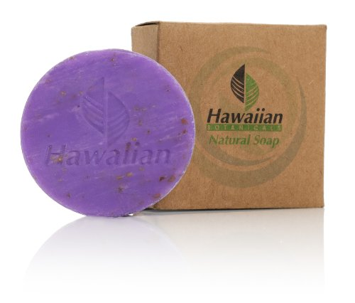 Hawaiian Botanicals Lavender Natural Soap 50gm (Case of 100) Free - With Free Shipping Wholesale