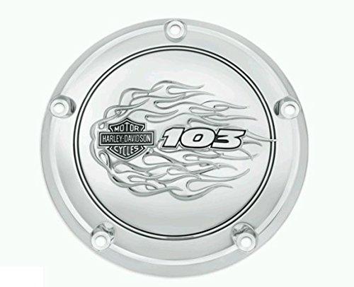Tapa Acceso embrague carcasa Derby cromado Logo 103 Flames orig. Harley Davidson: Amazon.es: Juguetes y juegos