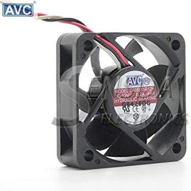 For AVC DA0515R12H-FAR 5015 50mm 50mm 15mm 50mm 5cm DC 12V 0.20A 3wire computer pc cooling fan