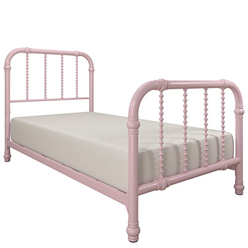 DHP Jenny Lind Bed, Pink, Twin