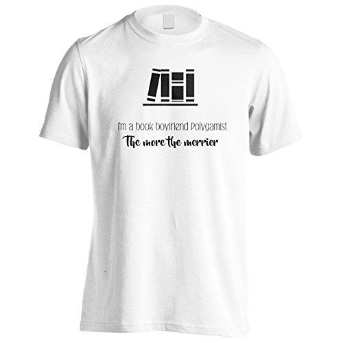 Ich Bin Ein Buchfreund Polygamist Herren T-Shirt k773m