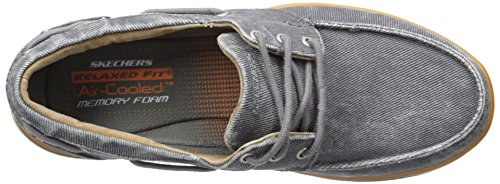 Skechers Mens Eletto Orizzonte Oxford Carbone