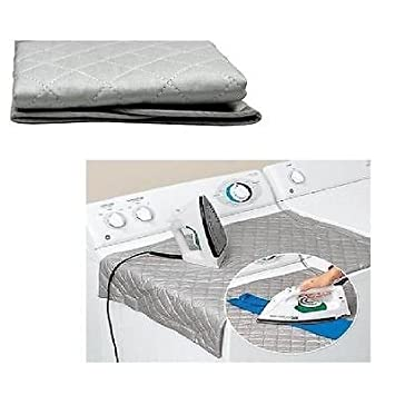 Unibos Table Top Ironing Pad Foldable Easy Ironing Mat  Iron Anywhere With  Magnetic Corner Portable