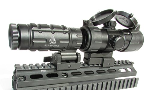 Leapers FTS Magnifier with Red Dot Sight Combo by Leapers