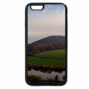 iPhone 6S / iPhone 6 Case (Black) sundown on the bend in the neckar river