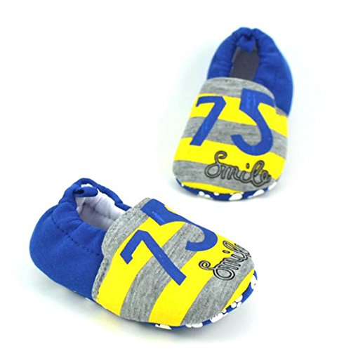 HUHU833 ❆Neugeborene Lovely Kleinkind Schuhe Baby Schuhe Karikatur Schuhe Flats Weiche Pantoffel Schuhe Kinder Baby Freizeitschuhe F