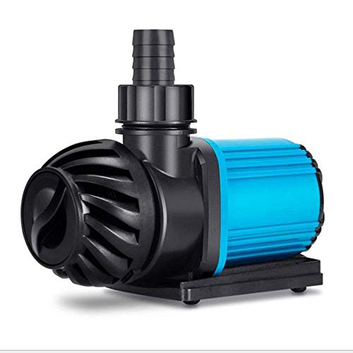(B&MF DC Frequency Conversion Submersible Pump 20 Speed Adjustment - Ultra Quiet Dc24v Low Voltage Variable Frequency Pump, Ac220v Aquarium Circulation Pump Fish Pond Pump,9000L [Energy Class A],3800L)