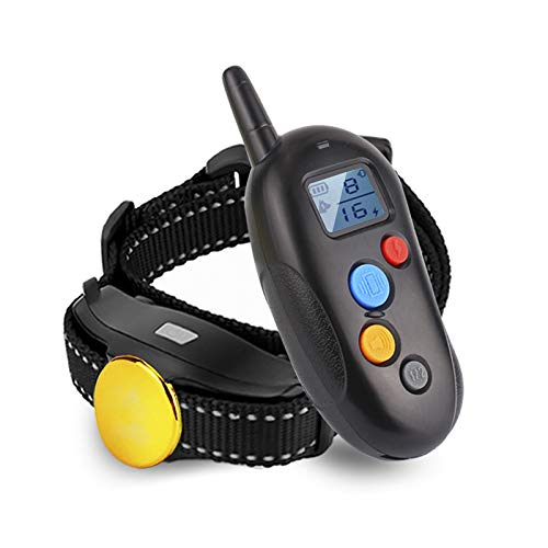 TOKEGO Dog Training Collar 2019 Upgraded, 1000ft Remote Dog Shock Collar, 100% Waterproof and Rechargeable with Beep/Vibra/Electric Shock