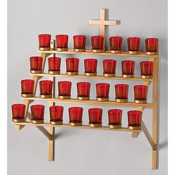 Wall Mount Votive Stand
