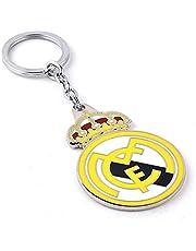 سلسلة مفاتيح تحمل شعار فريق ريال مدريد لكرة القدم مع دلاية