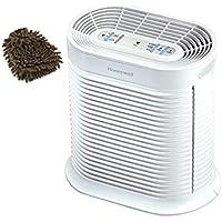 Honeywell HPA204 Filter Allergen Remover, True HEPA (Complete Set) w/ Bonus: Premium Microfiber Cleaner Bundle