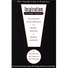 By Anthony J. D'Angelo Inspiration for Resident Assistants [Paperback]
