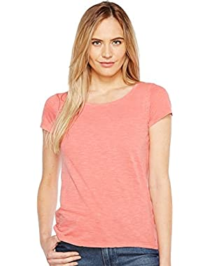 Jeans Womens Essential Scoop Neck T-Shirt