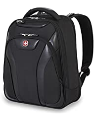 Swiss Gear SA5963 Black TSA Friendly ScanSmart Laptop Business Backpack - Fits Most 13 Inch Laptops and Tablets