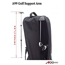 A99 Golf Travel Bag Club Protector Telescopic Support Arm Air Freight Carry