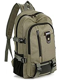 Back to School Gift LightInTheBox Vintage Casual Backpack School Bag Laptop Bakpack-Army Green