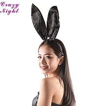 Crazy Night Easter Bunny Ears Headband Costume Accessories