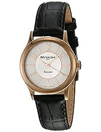 Nivada NP16088LDOPA Reloj Cuarzo Análogo, color Blanco/Negro
