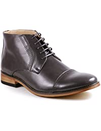 MC115 Men's Lace Up Cap Toe Dress Ankle Chukka Boots