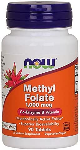 Now Supplements, Methyl Folate, 1000 mcg, 90 Tablets