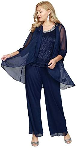 R&M Richards Plus Size Pant Suit Made in USA