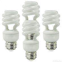 Ecosmart 23-Watt (100W Equivalent) CFL Light Bulb, Soft White (4-Pack) by PLT