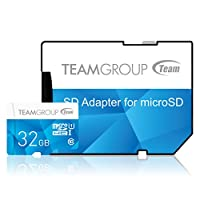 Team Group 32GB UHS-I/U1 Class 10 Memory Card with Adapter Deals