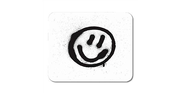 ZB Luxury Alfombrilla De Teclado,Spray Graffiti Emoticon De ...