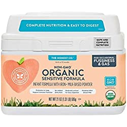The Honest Co. Organic Non-GMO Sensitive Infant Formula, 21 Ounce