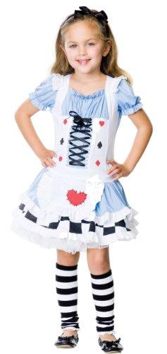 Baby Girl Alice Wonderland Costume (Miss Wonderland Child Costume - Medium)