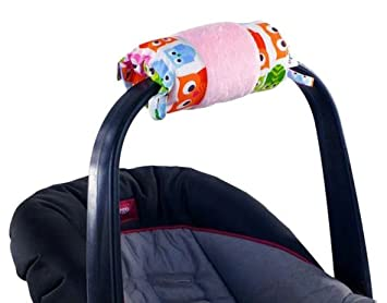 Itzy Ritzy Wrap Infant Car Seat Handle Cushion Hoot Discontinued By Manufacturer