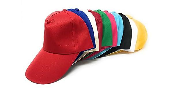 Bulk 50 Gorras de béisbol de varios valores, para niños de 3 a 7 ...