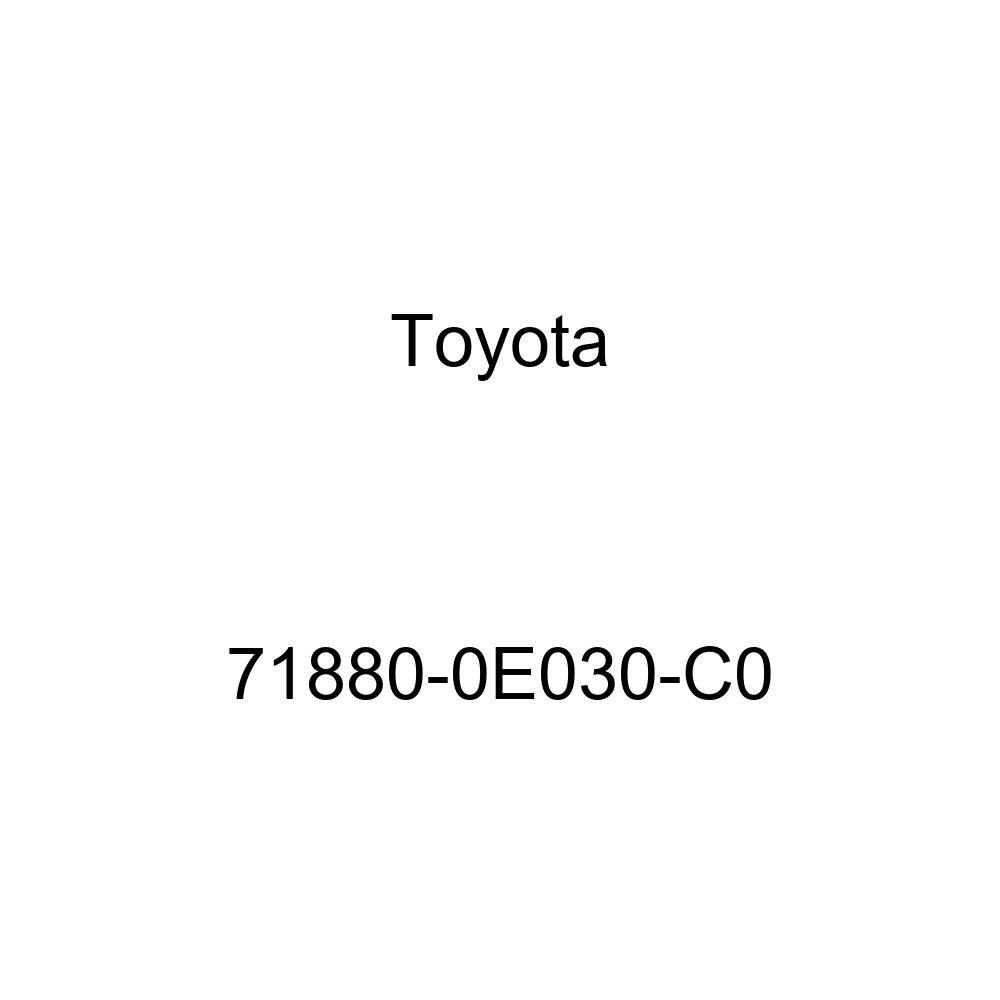 TOYOTA Genuine 71880-0E030-C0 Seat Back Board Carpet Assembly