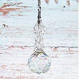 SHINY HANDLES 40mm Crystal Faced Ball Prisms Sun